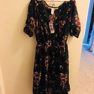American Rag ✨NWT💫 Chiffon Dress 👗 with 🌸